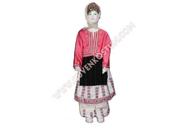 Bursa Kız Kostümü