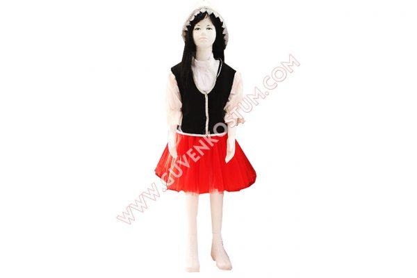 Hollanda Kız Kostümü