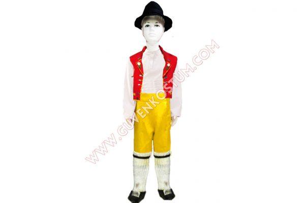 İsviçre Erkek Kostümü