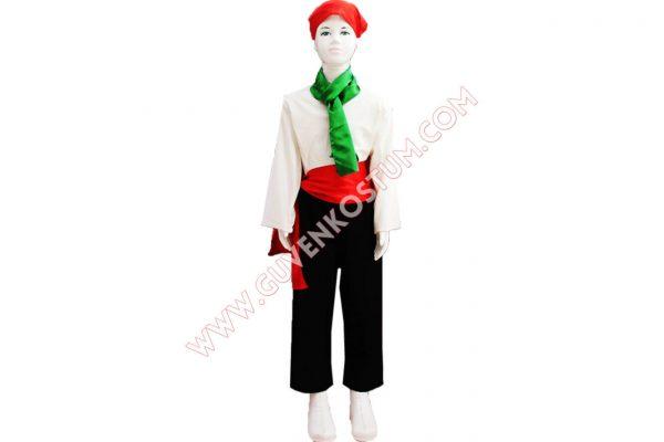 İtalya Erkek Kostümü