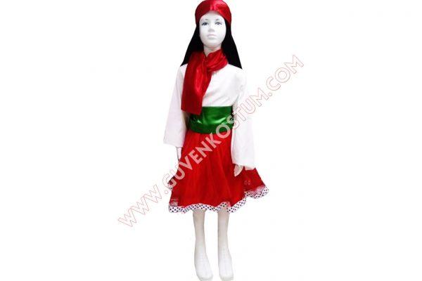 İtalya Kız kostümü