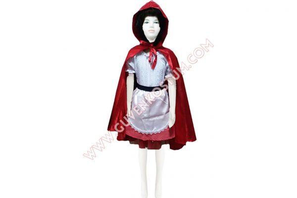 Kırmızı Başlıklı Kız Kostümü