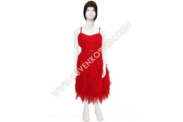 Kırmızı Dans Kıyafeti
