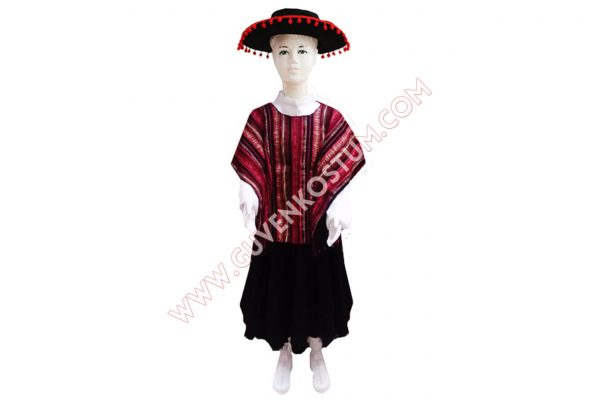Meksika Kız Kostümü