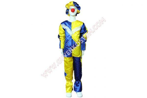Palyaço Kostümü Mavi