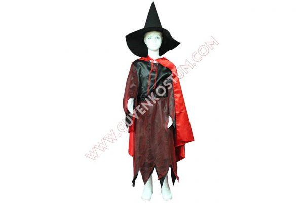 Pelerinli Cadı Kostümü