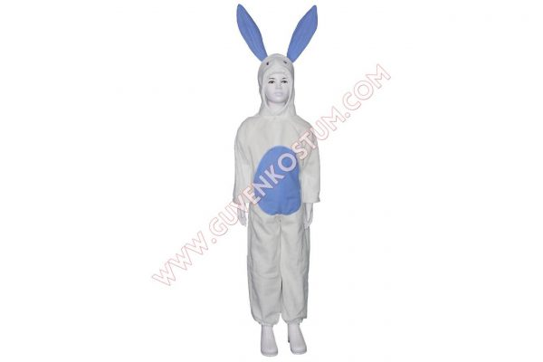 Tavşan Kostümü Mavi